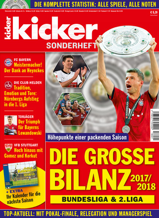 kicker Finale Sonderheft