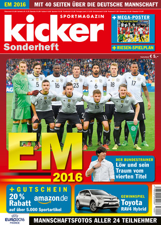 kicker EM/WM Sonderheft - ePaper;