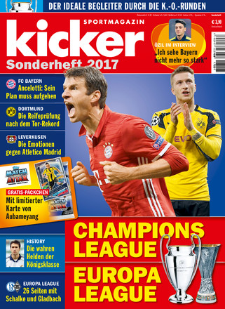 kicker Sonderheft CHL/EL - ePaper;