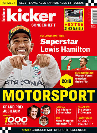 kicker Formel 1 Sonderheft - ePaper;