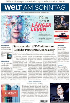 WELT AM SONNTAG Hamburg - ePaper;
