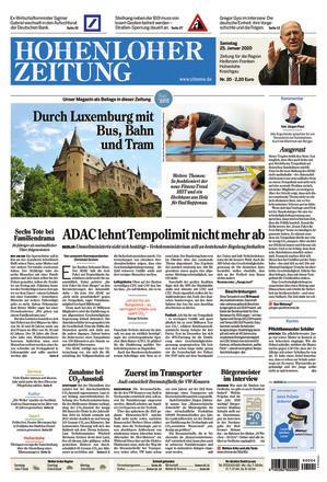Hohenloher Zeitung - ePaper;