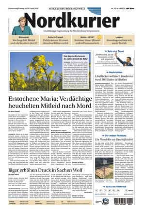 Nordkurier - Mecklenburger Schweiz Malchin - ePaper;