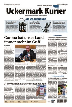 Nordkurier - Prenzlauer Zeitung - ePaper;