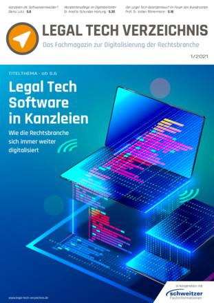 Legal Tech Verzeichnis Fachmagazin - ePaper;