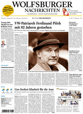 Wolfsburger Nachrichten - ePaper;