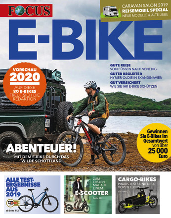 FOCUS E-BIKE Magazin - ePaper;