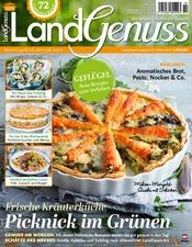Genuss Kochzeitschrift landgenuss zeitschrift als epaper im ikiosk lesen
