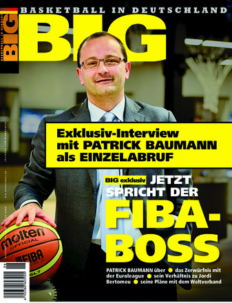 BIG - Basketball in Deutschland Exklusiv-Interview Patrick Baumann - ePaper;