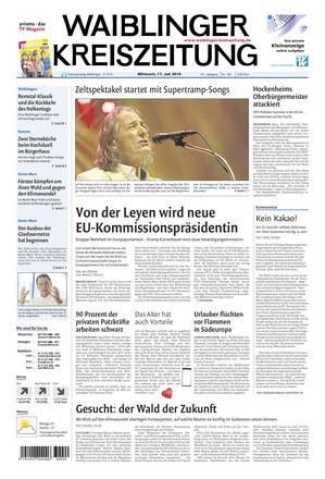 Waiblinger Kreiszeitung - ePaper;