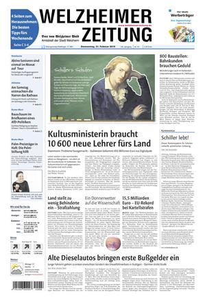 Welzheimer Zeitung - ePaper;
