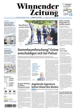 Winnender Zeitung - ePaper;