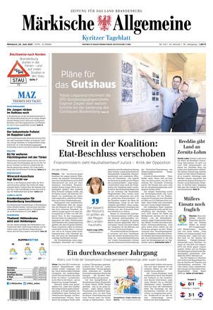 MAZ Kyritzer Tageblatt - ePaper;