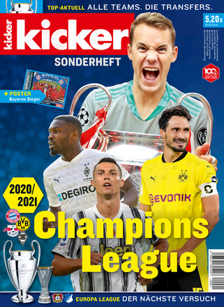 kicker Champions League Sonderheft - ePaper;