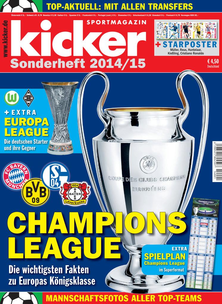 kicker Champions League Sonderheft - ePaper;