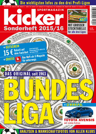 kicker Bundesliga Sonderheft - ePaper;