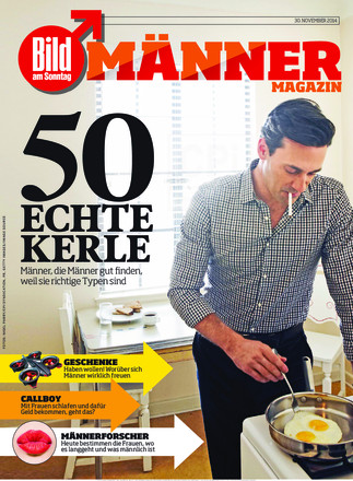 Männer Magazin BILD am SONNTAG - ePaper;