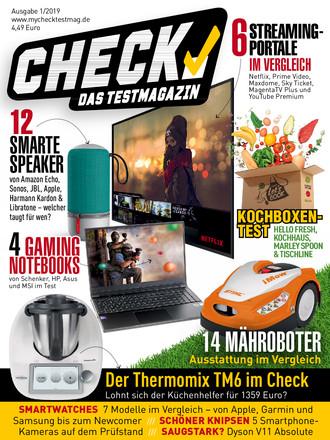 CHECK - Das Testmagazin - ePaper;