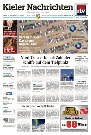 Kieler Nachrichten - ePaper;