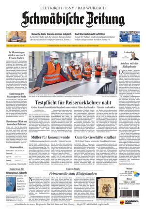 Schwäbische Zeitung Leutkirch