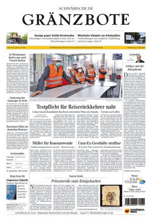 Schwäbische Zeitung Tuttlingen