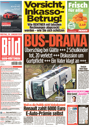 Bildzeitung Heute Schlagzeile