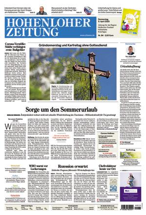 Hohenloher Zeitung Öhringen