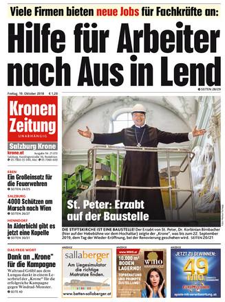 Kronen Zeitung Salzburg