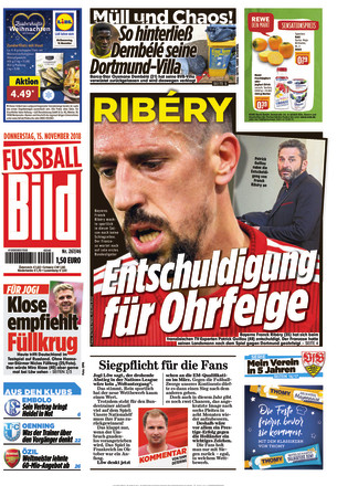 FUSSBALL BILD Ost