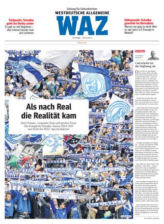 WAZ - Ein Jahr auf Schalke - ePaper;