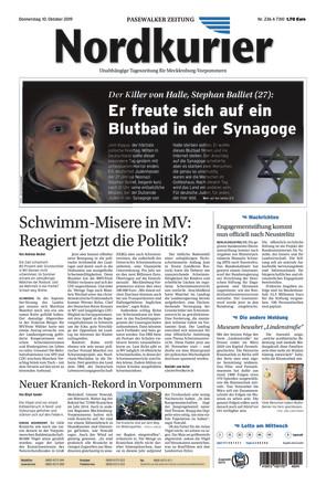 Nordkurier - Pasewwalkalker Zeitung - ePaper;
