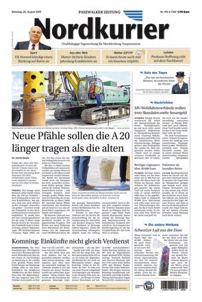 Nordkurier - Pasewwalkalker Zeitung