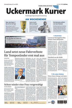 Nordkurier - Templiner Zeitung - ePaper;