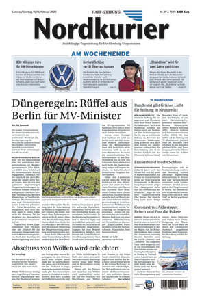 Nordkurier - Haff-Zeitung