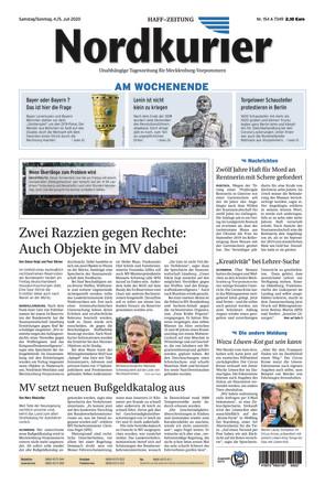 Nordkurier - Haff-Zeitung - ePaper;