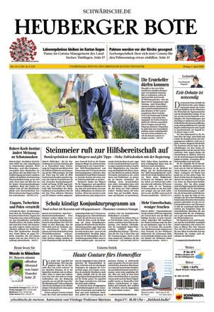Heuberger Bote - ePaper;