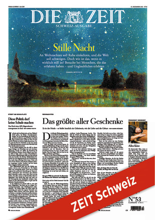 ZEIT Schweiz - ePaper;