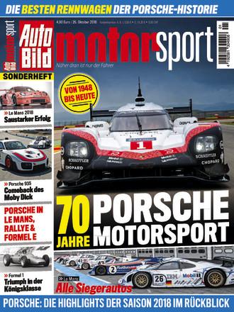 AUTO BILD MOTORSPORT: 70 Jahre Porsche im Motorsport  - ePaper;