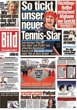 Bild Zeitung Frankfurt