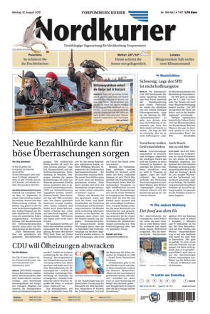 Nordkurier - Vorpommern Kurier Anklam