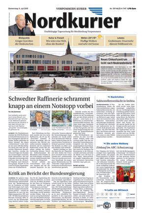 Nordkurier - Vorpommern Kurier Jarmen