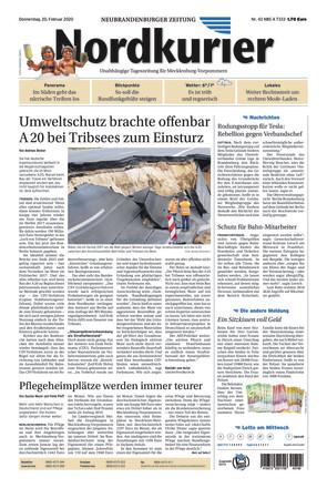 Nordkurier - Neubrandenburger Zeitung Stargard