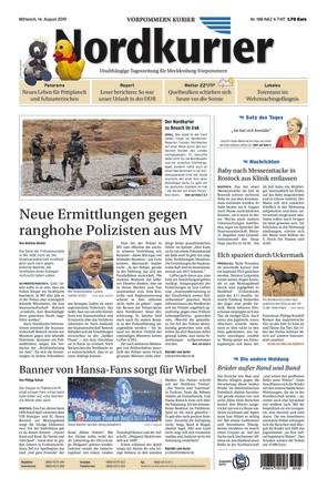 Nordkurier - Vorpommern Kurier Anklam - ePaper;