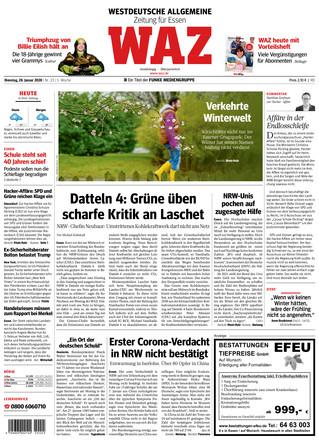 WAZ Westdeutsche Allgemeine Zeitung - ePaper;