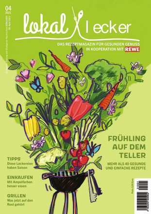 Lokal & LECKER – Das Rezeptmagazin für gesunden Genuss  - ePaper;