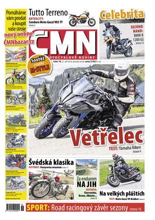 České motocyklové noviny - ePaper;