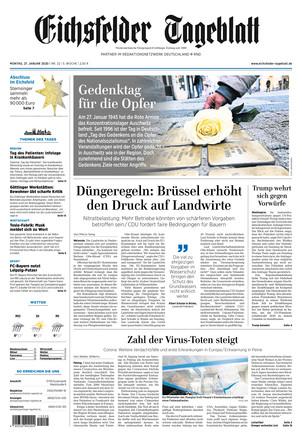 Eichsfelder Tageblatt - ePaper;