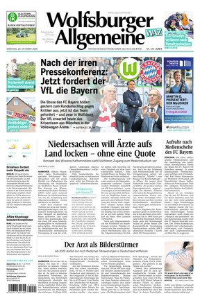 Wolfsburger Allgemeine Zeitung - ePaper;