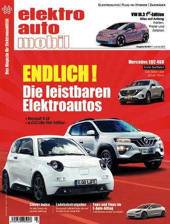 Elektroautomobil - ePaper;