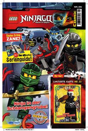 LEGO Ninjago Comic